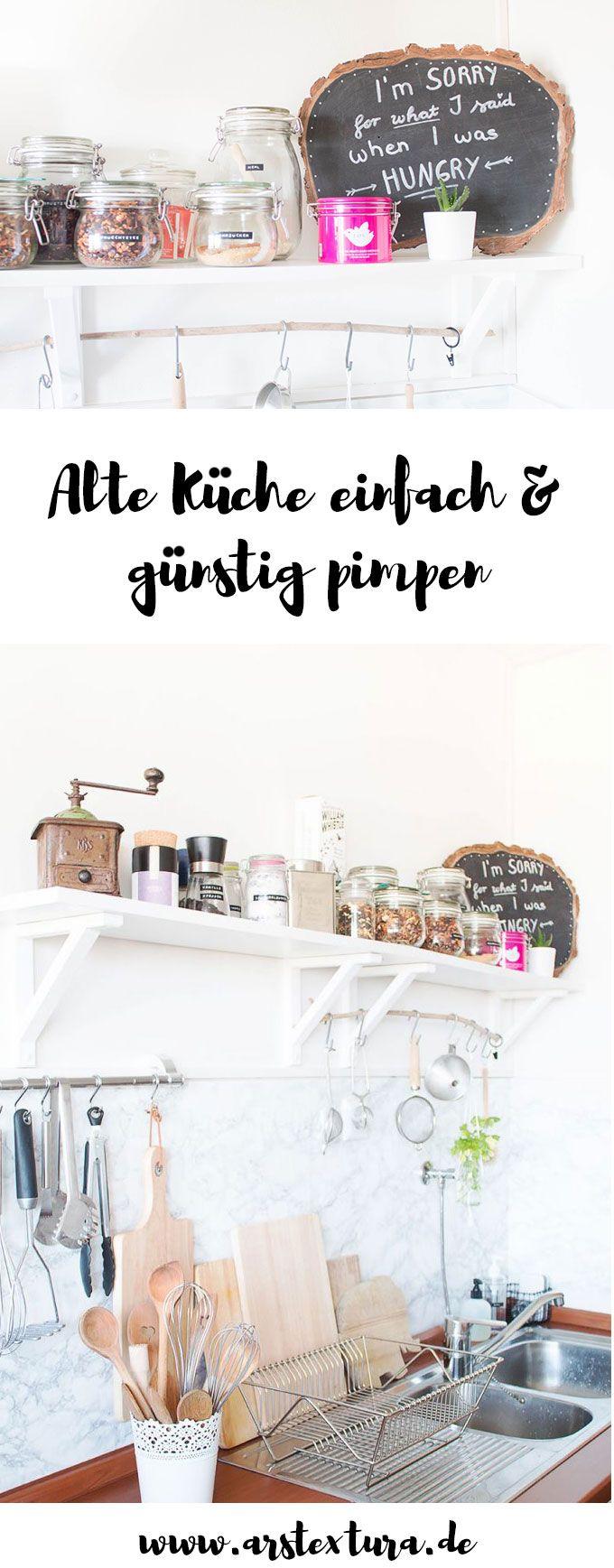 Kitchen Greens und ein kleines Küchen-Makeover | Alte küche, Günstig ...