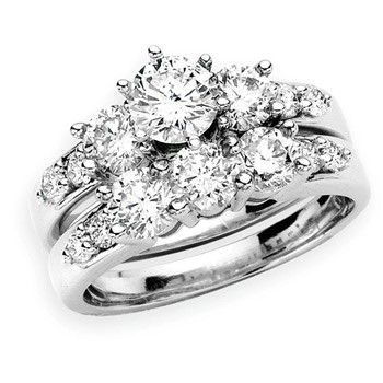 Angara Solitaire Diamond Ring in White Gold jp4nm7P