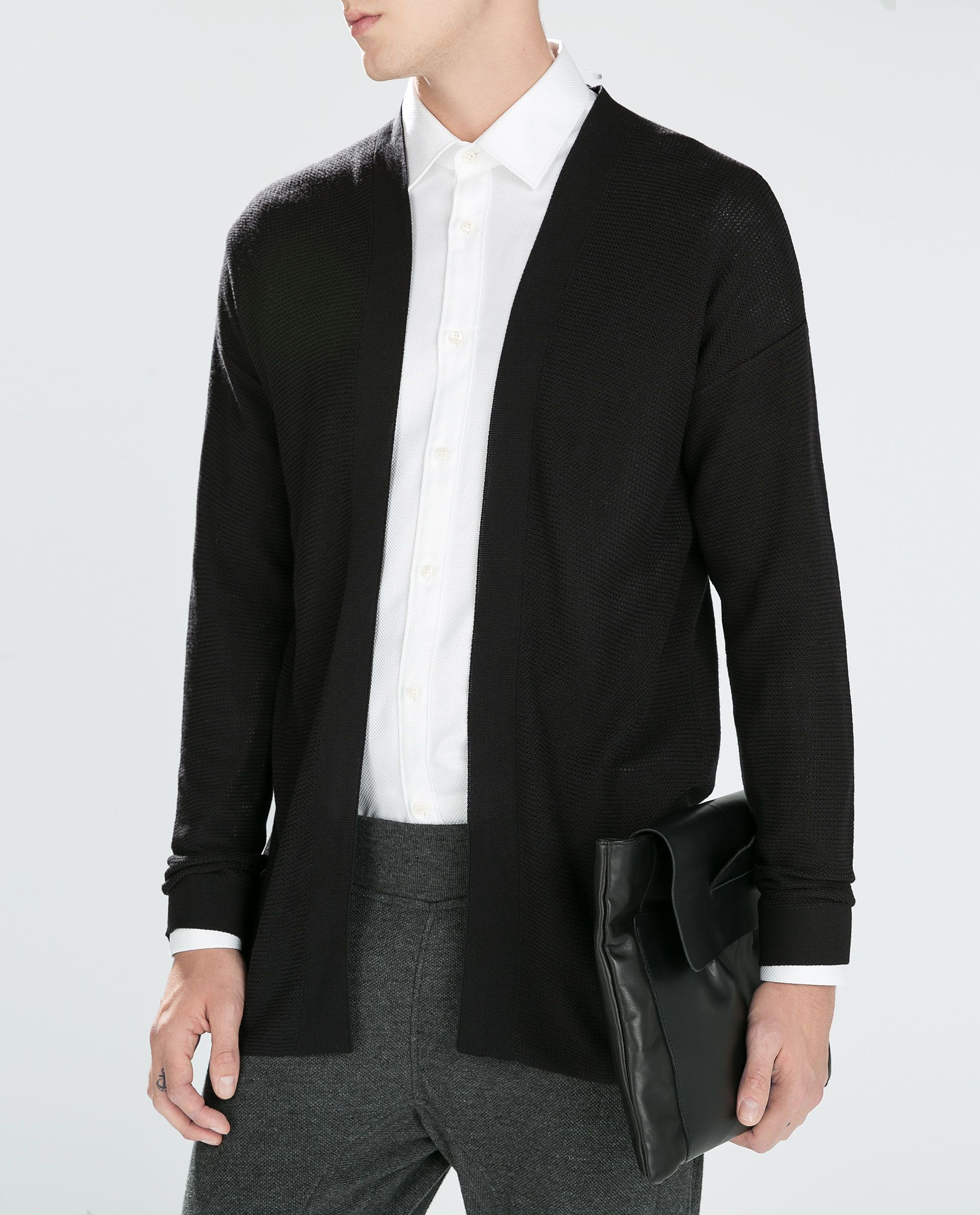 Zara Man Open Jacket Clothes, Shoes & Accessories Men's Clothing