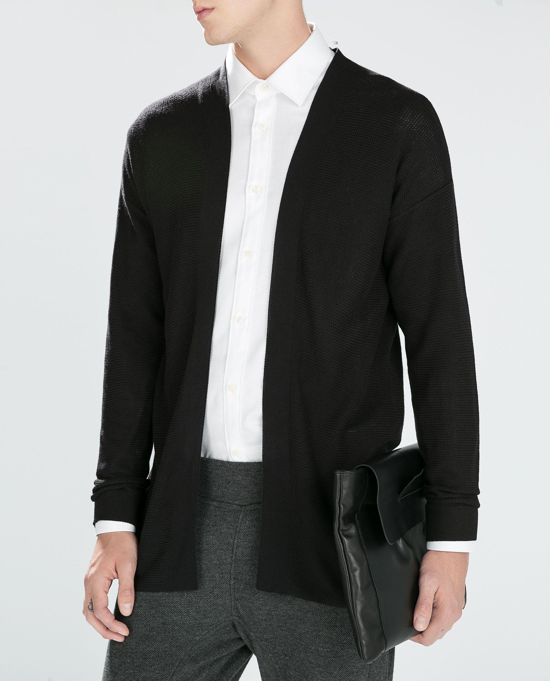 Coats & Jackets Clothes, Shoes & Accessories Open Jacket Zara Man