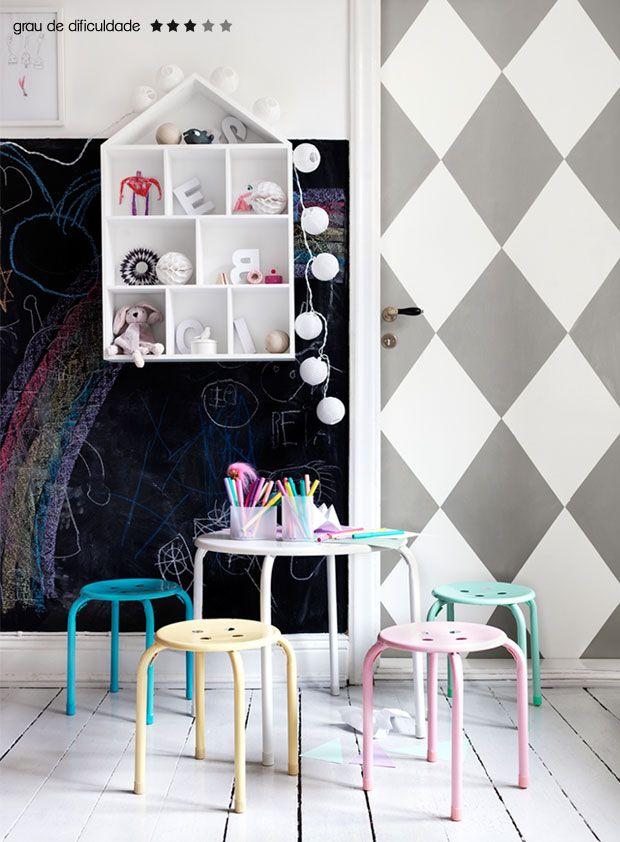 patterned door #decor #DIY #cool