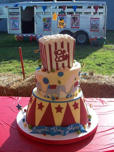 circustheme graduation cake Circus circus Circus cakes and Cake