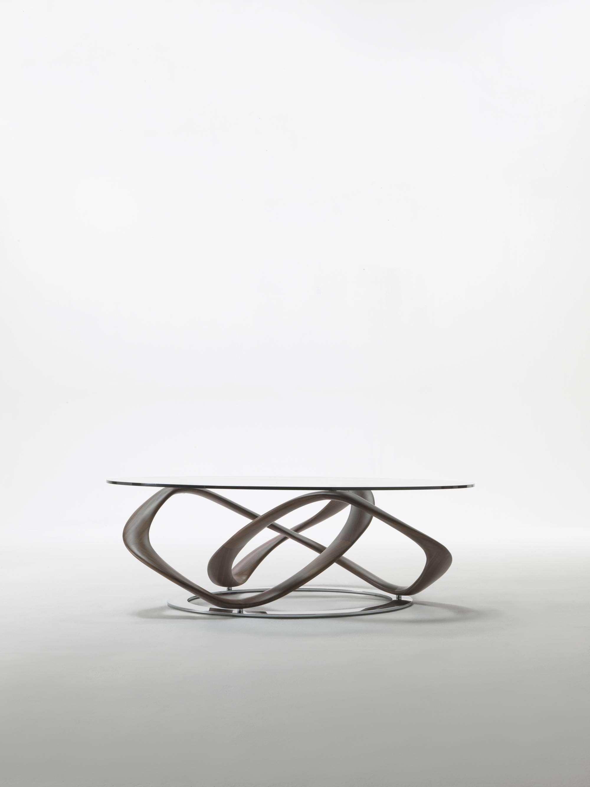 Infinity Porada Coffee Table Design Glass Dining Table Furniture Design [ 2667 x 2000 Pixel ]