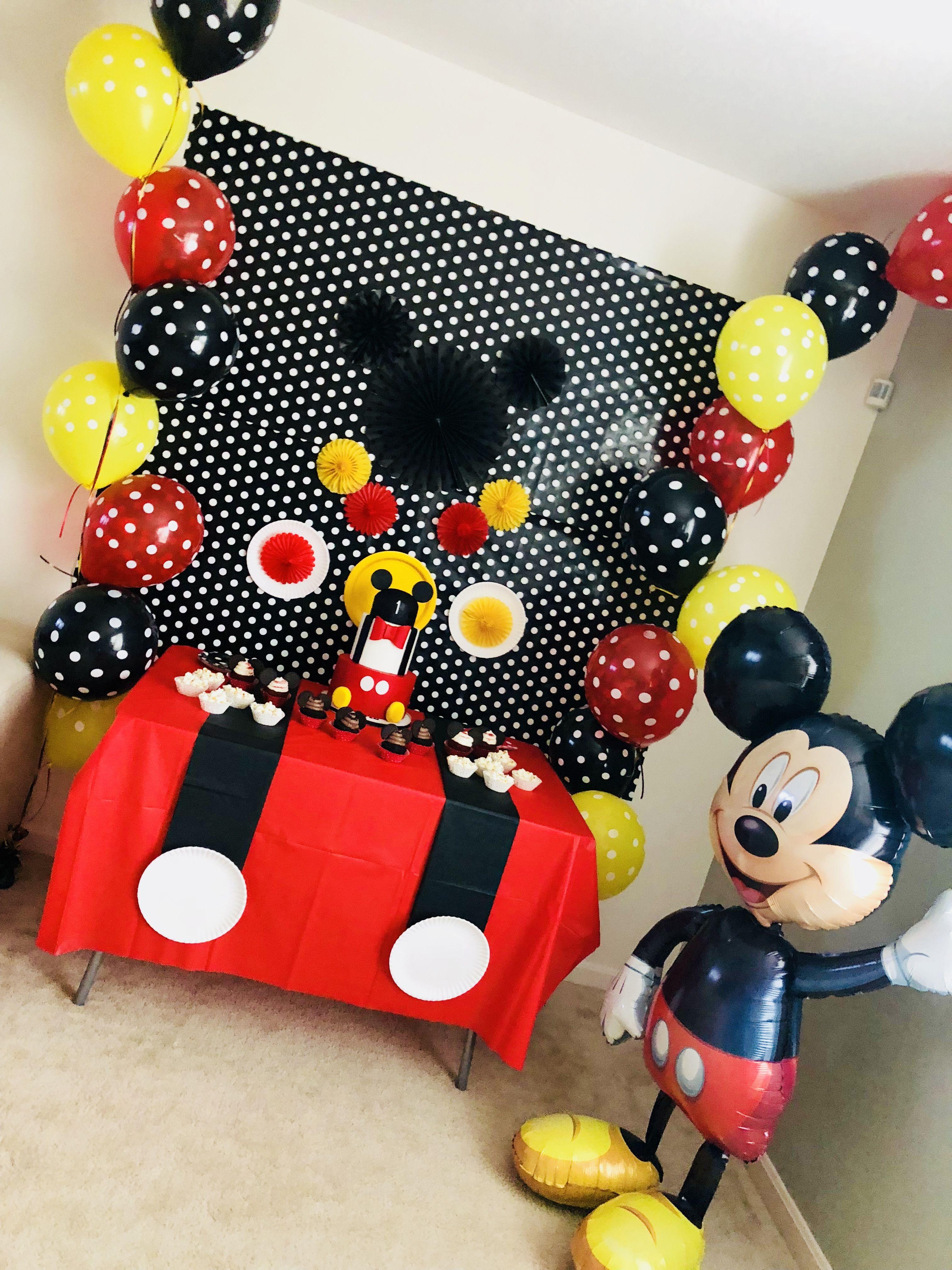 mickey birthday decoration