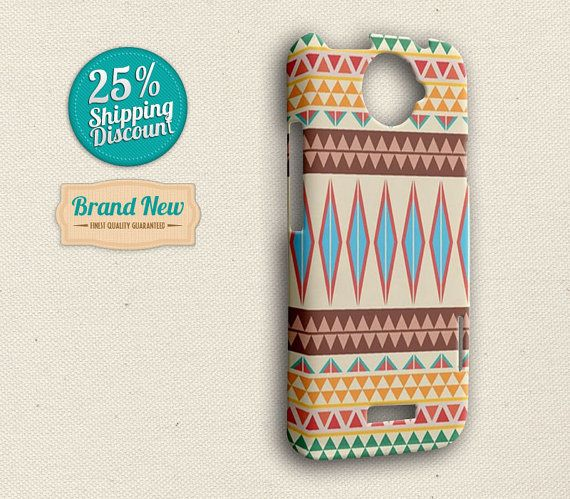 HTC One X Case  Aztec HTC One X Cover  Aztec by elevenbuttons, $16.88