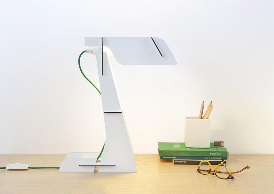transparente designlampe Lasso gelb glühbirne led