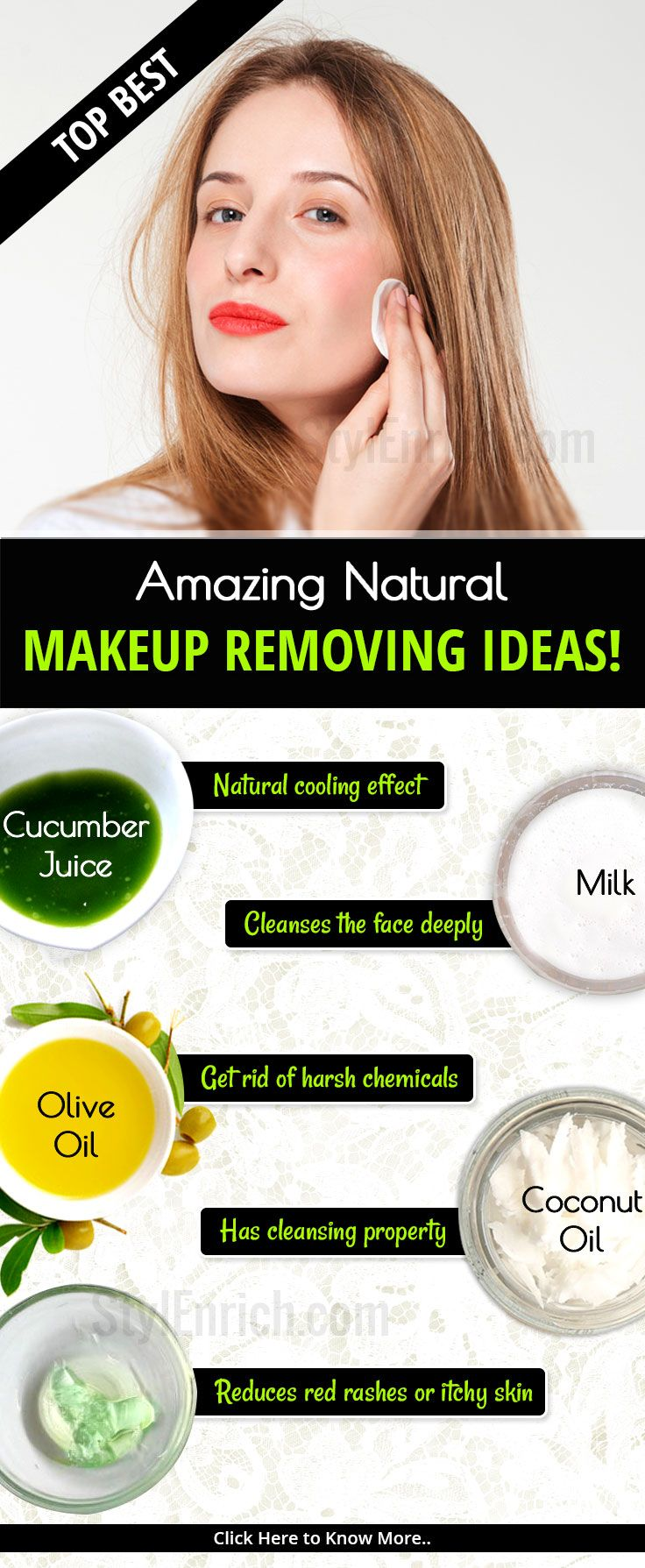 Do You Know Easy Way To Remove Your Makeup We Bring For You Some Easy Tips To Remove Your Makeup With Face Products Skincare Diy Skin Care Recipes Skin Care