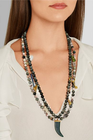 Carolina Bucci's Recharmed necklaces, exclusively on Net-a-Porter