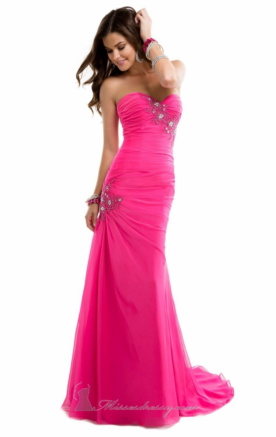 Sweetheart Gown by Flirt by Maggie Sottero | Vestidos fucsia rosados ...