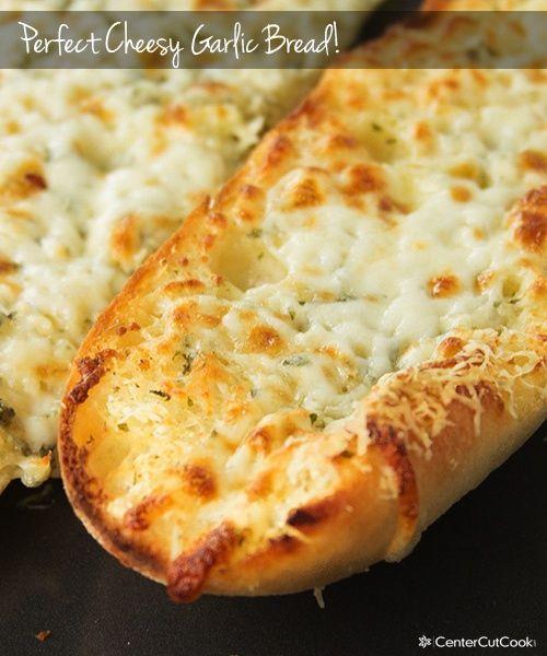 Perfect Cheesy Garlic Bread Recipe Recipes Cheesy Garlic Bread Cheesy Garlic Bread Recipe