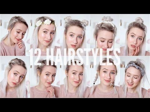 12 Easy Heatless Hairstyles Short Medium Hair Sophie Louise