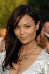 Thandie Newton Hairstyle Makeup Dresses Shoes And Perfume