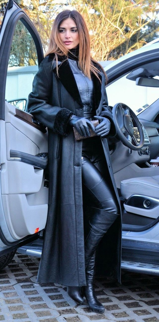 Black leather gloves brisbane - Leather Leather Lady Leather Glovesleather Pantsblack