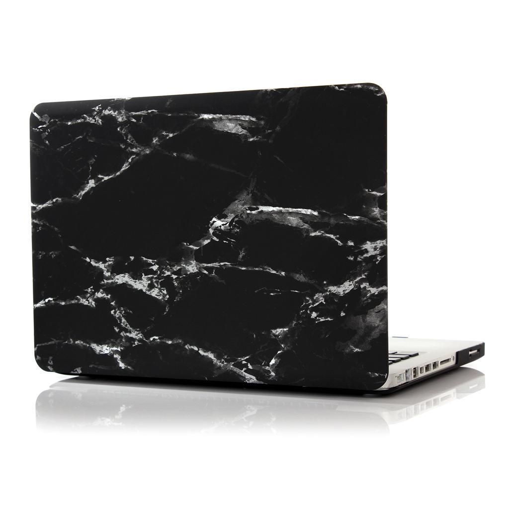 the latest 7fb4a 62081 $19.3 AUD - Black Marble Rubberised Hard Case Laptop Shell For ...