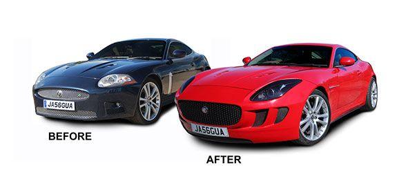 Jaguar XKR Latest Conversions body kit by Grantley