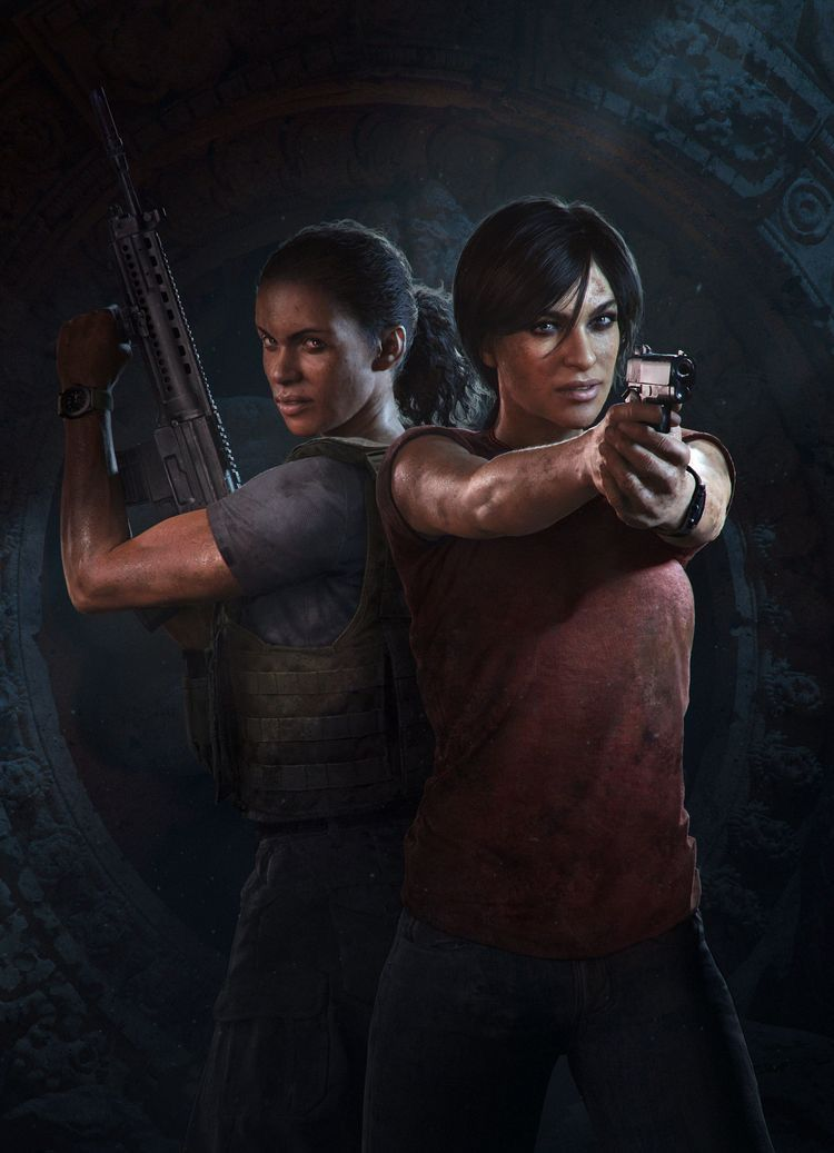 Uncharted 5 With Chloe And Nadine Uncharted Game Uncharted The