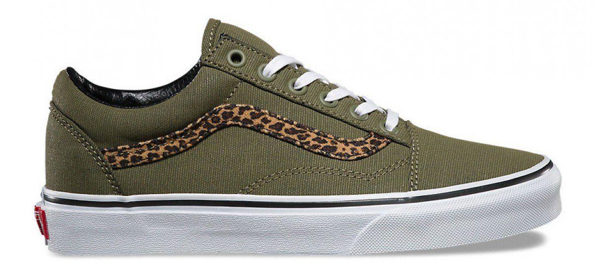 Vans Old Skool (Mini Leopard) Army
