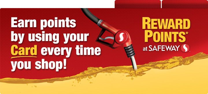 Earn fuel reward points by using your card every time you