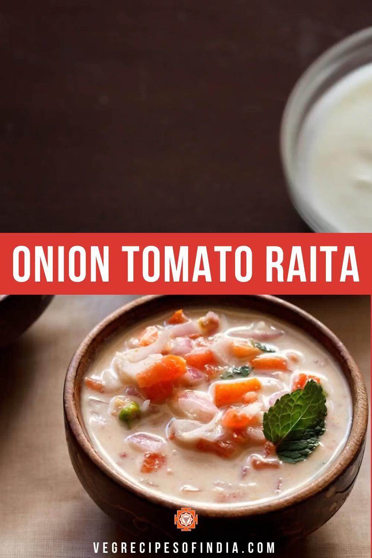 Onion Tomato Raita