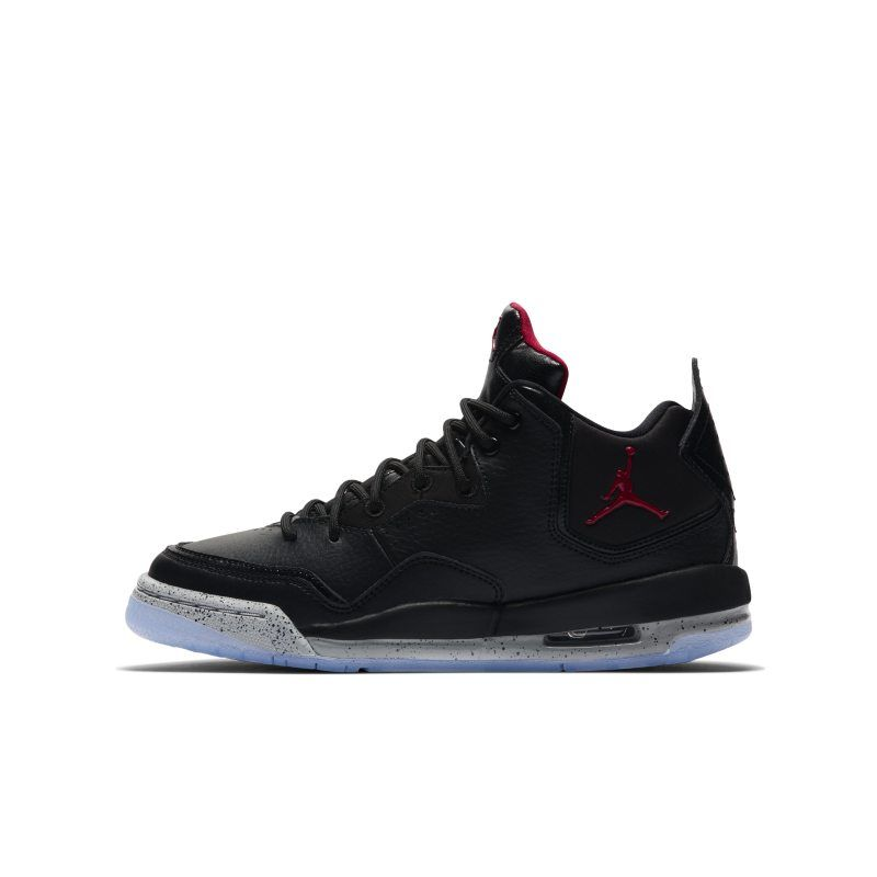 Nike Air Jordan Courtside 23 Red Black Boys UK 9.5