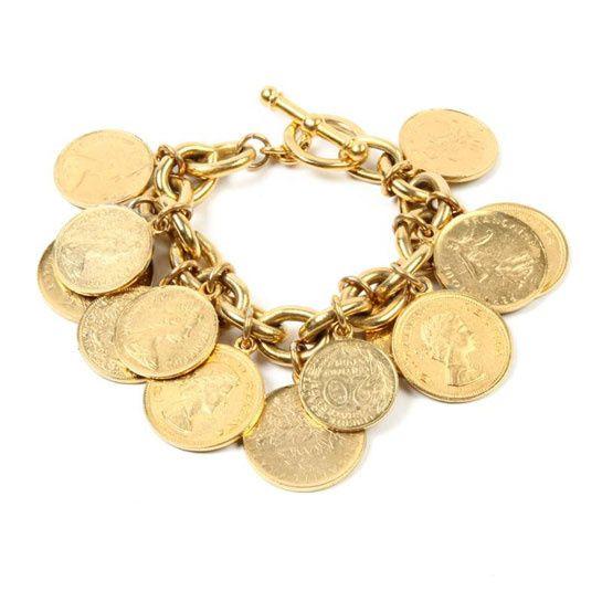 Le Bracelet Moroccan Coin De Ben Amun Http Www Vogue