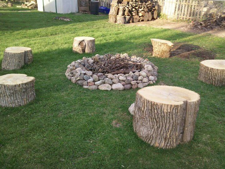 15 cr ations diy pour le jardin partir de rondins de bois logs fire and chang 39 e 3. Black Bedroom Furniture Sets. Home Design Ideas