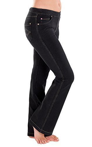 ff3d6eada Pin by Amber Weinberg on Fashion | Black bootcut jeans, Trending ...