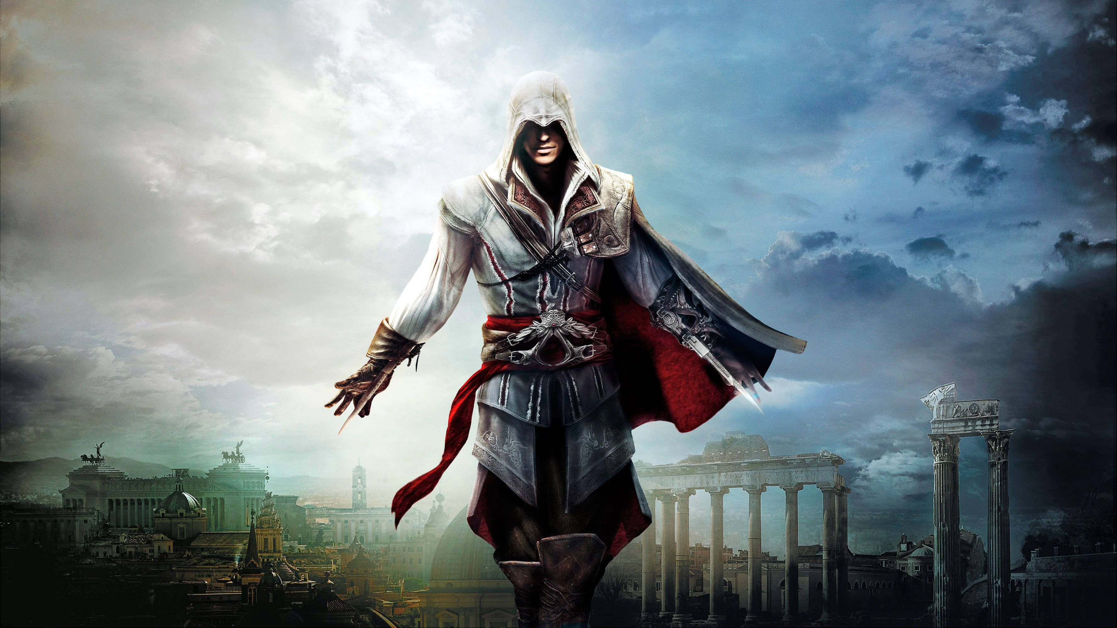 4k Wallpaper Assassin S Creed 3550x1997 High Resolution Igry