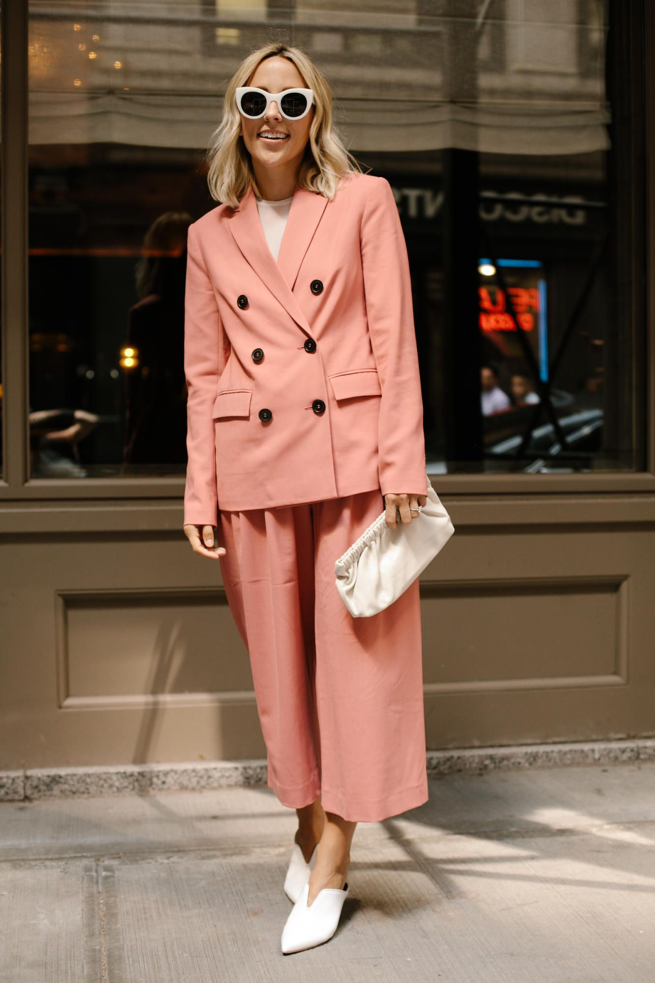 Pretty chic at New York Fashion Week