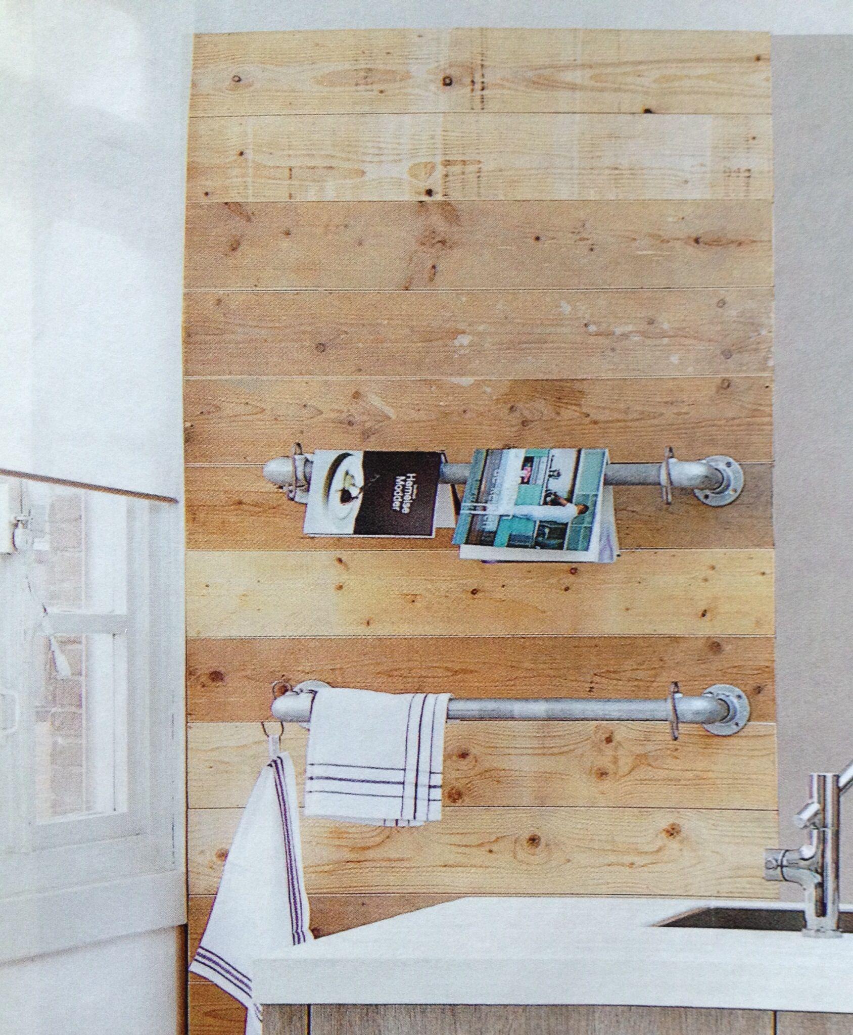 Handdoekenrek Voor Keuken : Handdoekenrek voor in de keuken Home is where the heart is Pinter
