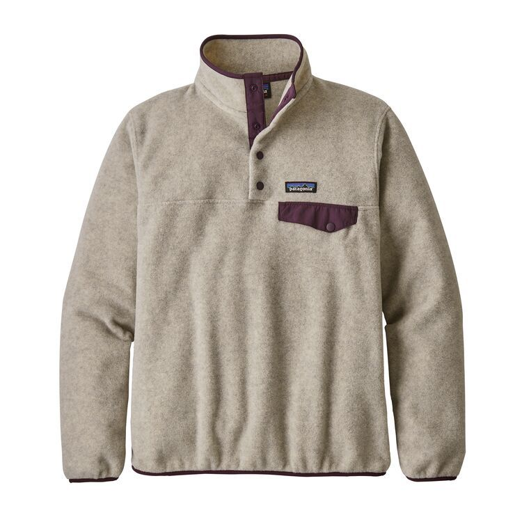Patagonia Womens Ws Lw Synch Snap-t P//O Sweatshirt