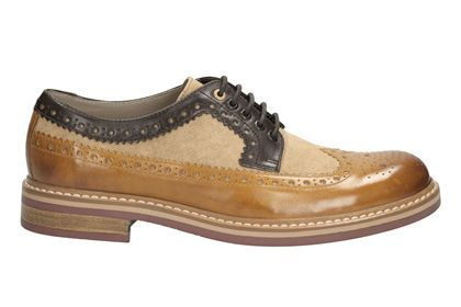 Clarks Darby Limit - Tan Combi - Mens Formal Shoes | Clarks