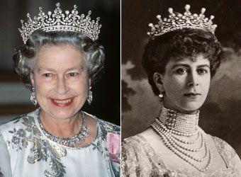 Queen Elizabeth Ii Jewelry Collection | Queen elizabeth, Queen ...