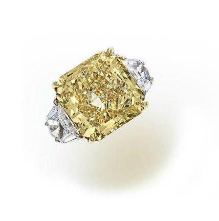 bague diamant jaune prix