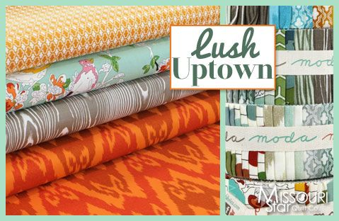New at MSQC!! Lush Uptown by Erin Michael for Moda