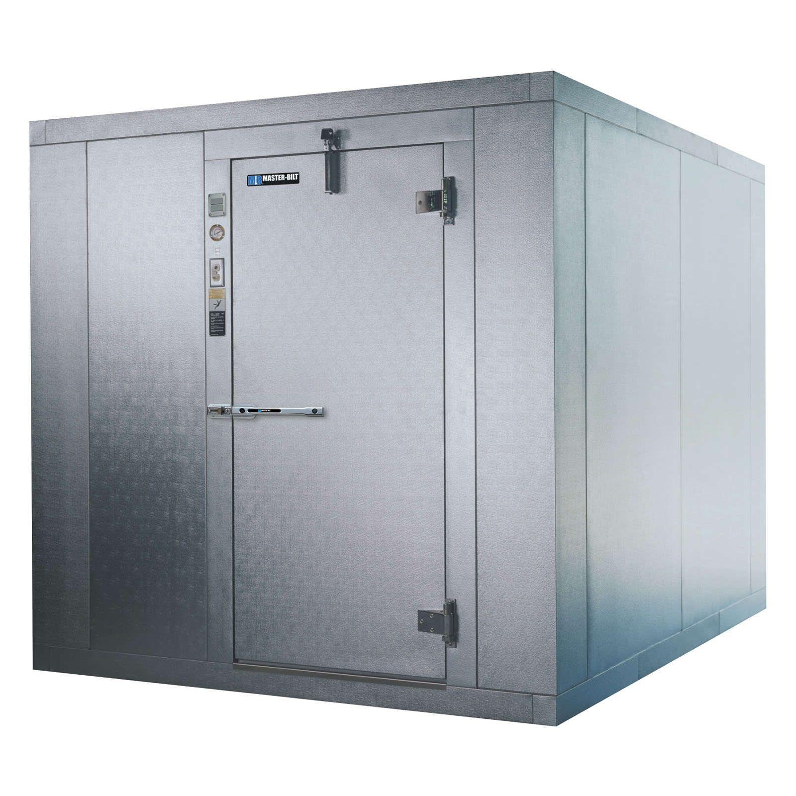 Master Bilt 760812fx Quick Ship Cooler Freezer Combination Walk In 7 9 Walk In Freezer Commercial Freezer Commercial Kitchen