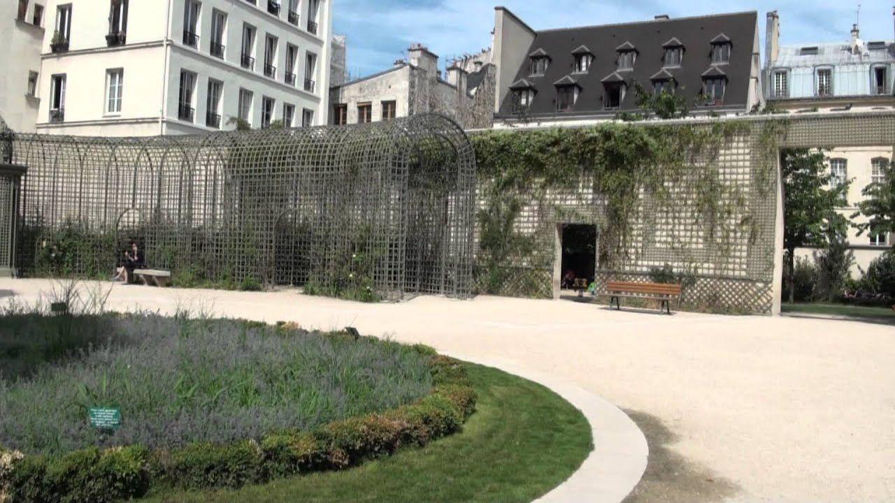 El Jardin De Ana Frank En Paris Francia Jardines Y Francia