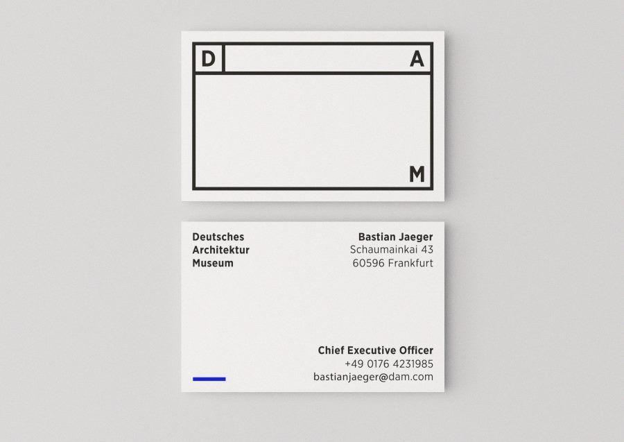 New graphic identity for Deutsches Architektur Museum (DAM), designed by Lucas Doerre.