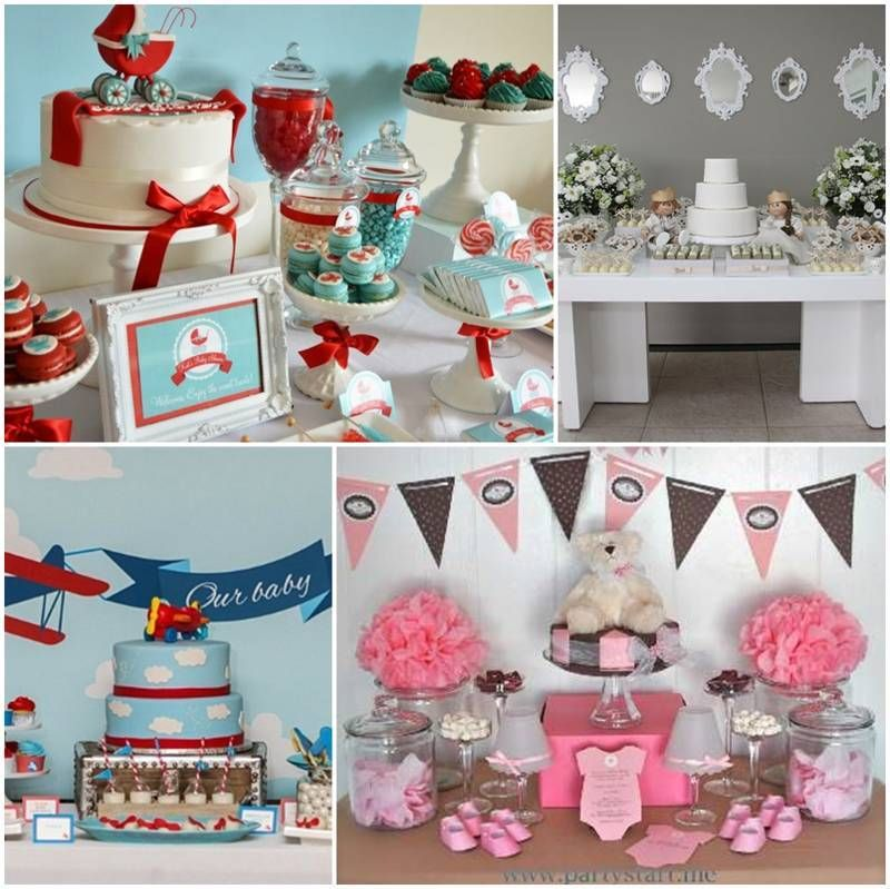 Decoracion de baby shower moderno fiestas baby shower for Decoracion casa shower