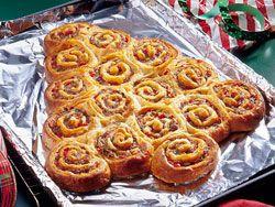 Breakfast idea? Christmas tree cinnamon rolls......