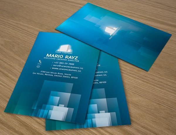 Presentation Cards Design