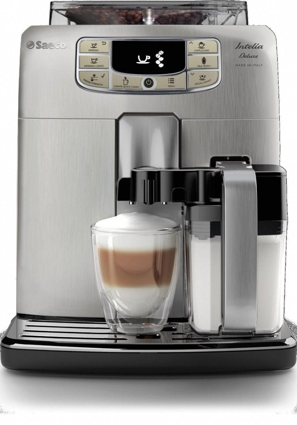Philips Saeco Intelia Espresso Machine Deluxe coldcoffee
