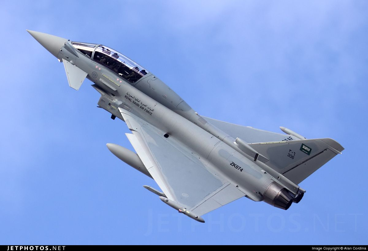 "Eurofighter Typhoon   Royal Saudi Air Force "" RSAF""   التايفون السعودية"