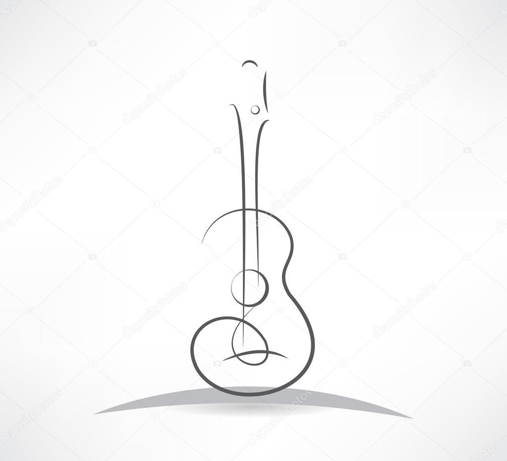 Image Result For Acoustic Guitar Line Art Guitar Drawing Minimalist Tattoo Line Art Drawings