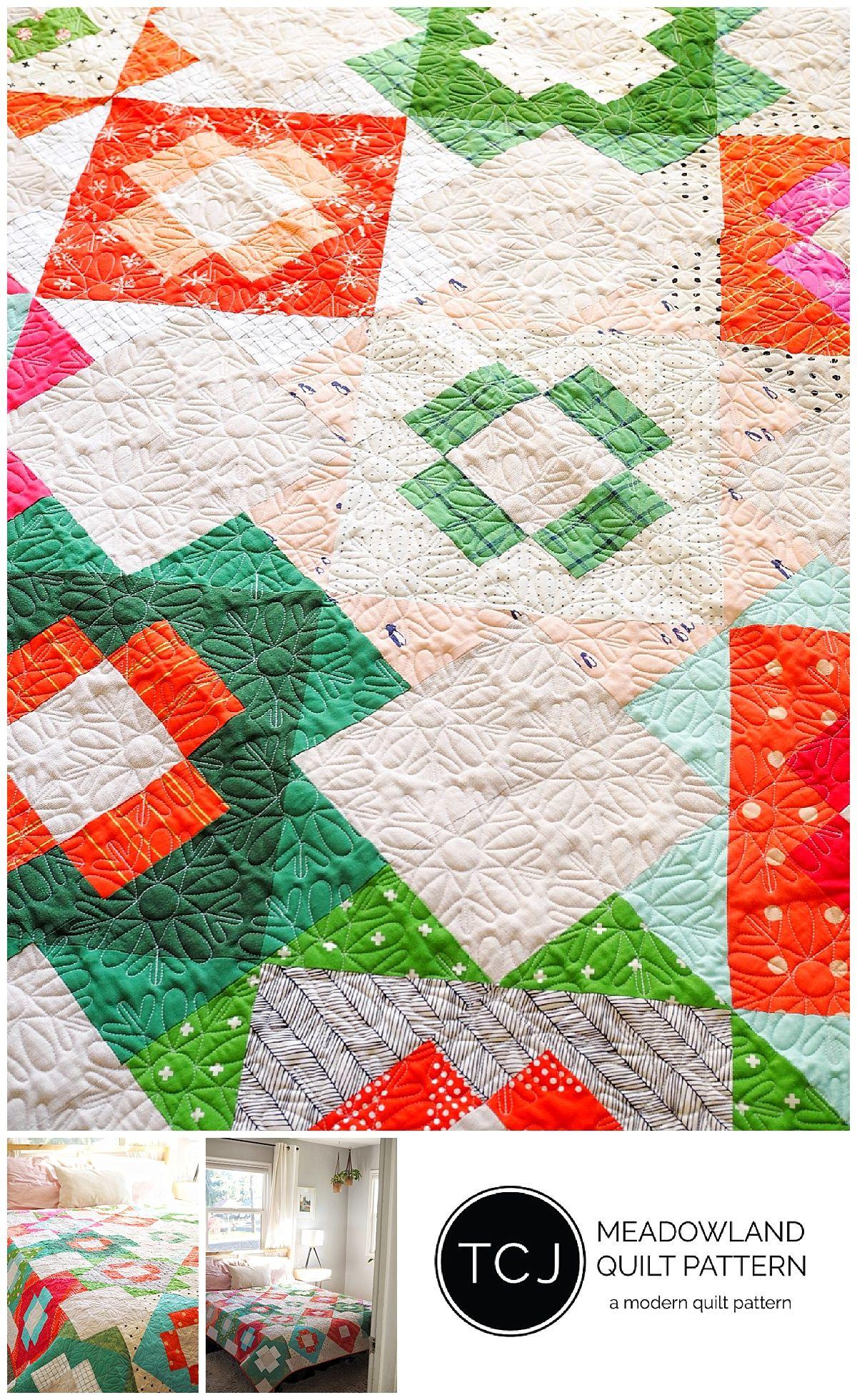 Meadowland Quilt Pattern - PDF  eaf59cab5