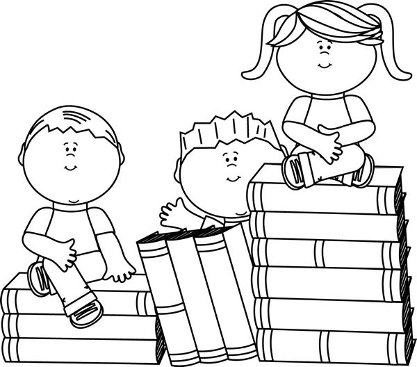 Books Coloring Pages - Best Coloring Pages For Kids | 528x600
