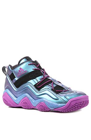 The Top Ten 2000 Sneaker in Black 1, Joy Blue,