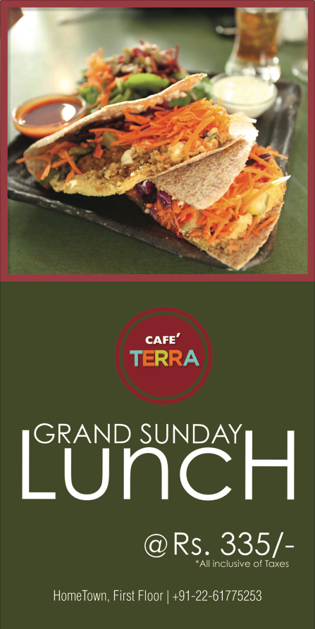 food promotion for a multi-cuisine restaurant and bar   social