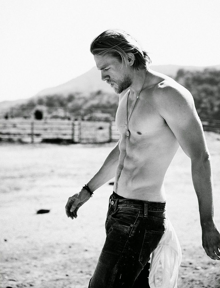 Charlie Hunnam Covers Men's Health