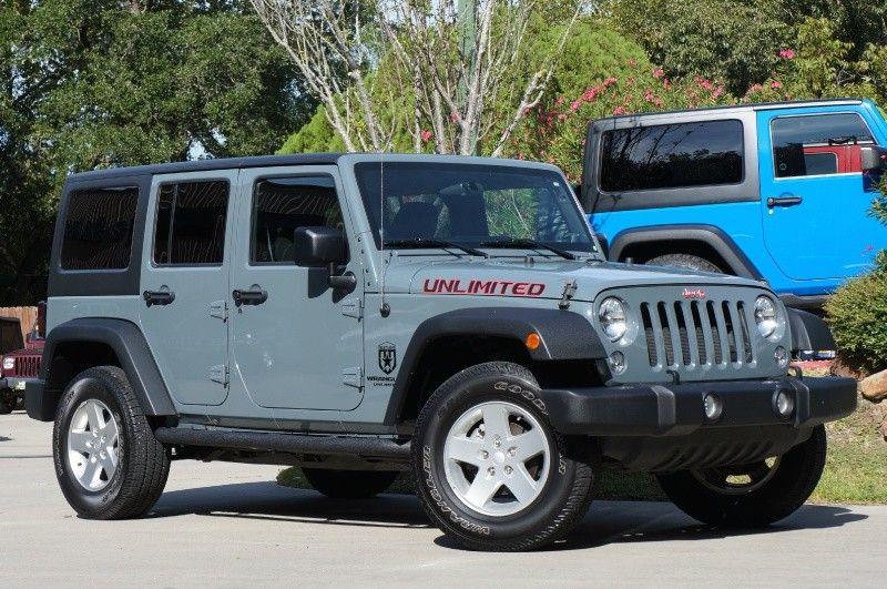 2014 Anvil Jeep Wrangler Unlimited 29995 Jeep wrangler